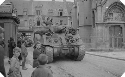 Douvres la delivrande 7 juin 1944