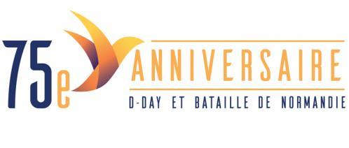 Logo 75eme anniversaire du debarquement