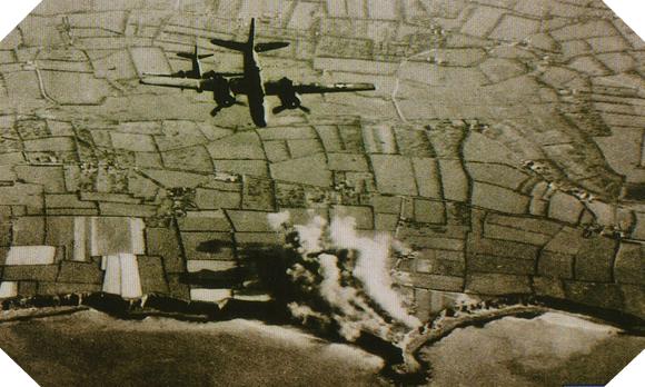 Pointe du hoc bombardement mai 1944 m 1